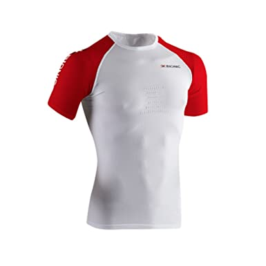 X-Bionic Adultos Función Bekleidung Running Man Speed OW Camiseta ...