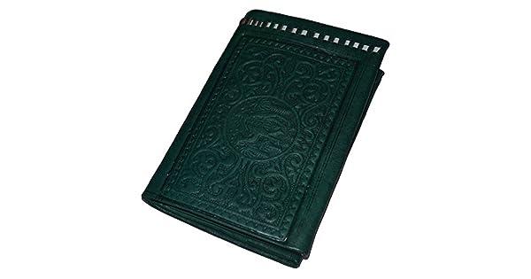 Amazon.com: portafolios de piel hecha a mano marroquí ...