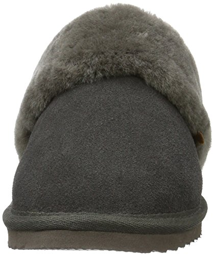 Warmbat Damen Flurry Pantoffeln Grau (85 Dark Grey)