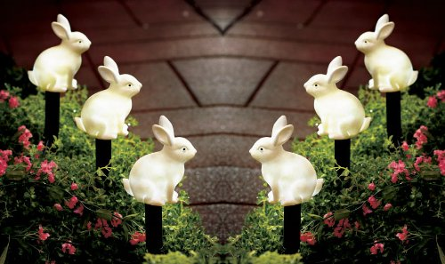 Outdoor Lighted Easter Bunny in US - 6