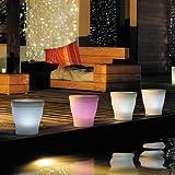 Blachere Illumination JFE001 Vaso luminoso LED RGB 28cm