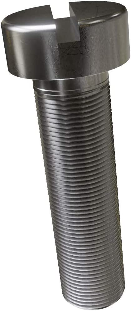 M4x80 Zylinderschrauben Zylinderkopf mit Schlitz Edelstahl A2 DIN 84 x20