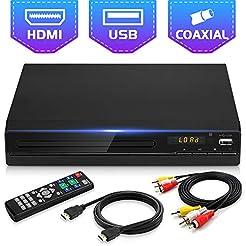 Jinhoo DVD Player for TV, All Region Fre...
