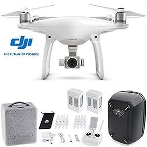 DJI Phantom 4 Quadcopter Drone w/ Hardshell Backpack + Spare Intelligent Flight Battery Bundle