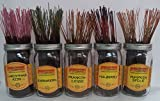 Wild Berry Incense Assorted Christmas Scents Set #3: 100 Sticks (20 each of 5 Scents)