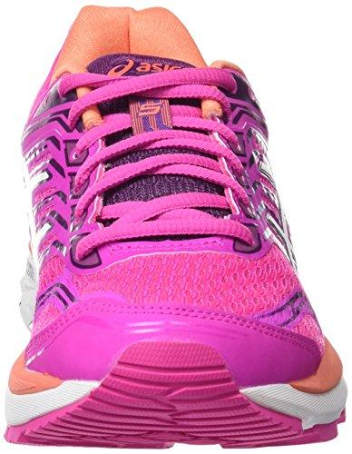 Damen 5 Purple Asics White Pink Laufschuhe 2000 Dark Schwarz Gt Pink Glow SOZZU