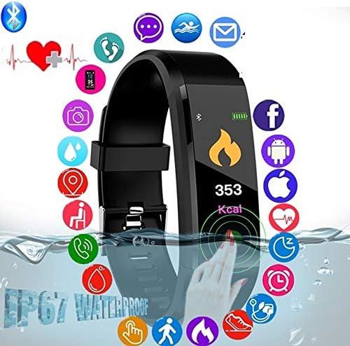 화려한 스크린 스마트 팔찌 니스 추적기 심 박수 혈압 모니터 bluetooth 스마트 시계 선물 친구 / Colorful Screen Smart Bracelet Fitness Tracker Heart Rate Blood Pressure Monitor Bluetooth Smart Watch Gift For Friends