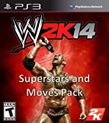 WWE 2K14: Superstars and Moves Pack DLC - PS3 [Digital Code]