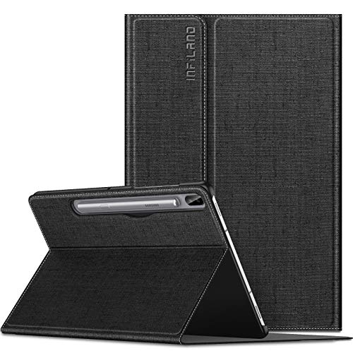 Infiland Galaxy Tab S6 10.5 Case, Multiple Angle Stand Case Fit Samsung Galaxy Tab S6 10.5 Inch Model SM-T860/T865/T867 2019 Release, Support S Pen Wireless Charging, Auto Wake/Sleep 201908USA0542D4-A
