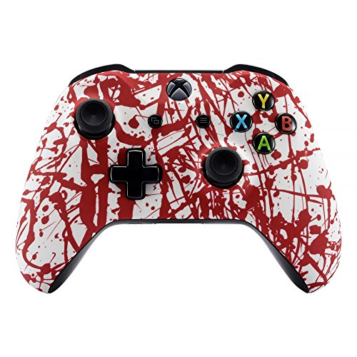 Amazon.com: eXtremeRate Blood Spatter Faceplate Cover, Soft ...