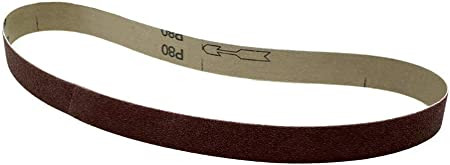 "1/"" X 30/"" 40 Grit Abrasive Sanding Belts 10 Pack Aluminum Oxide USA Made"