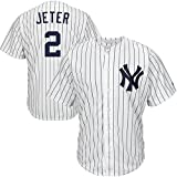img - for Derek Jeter #2 White Home Cool Base Jersey Mens Home Baseball Jersey book / textbook / text book