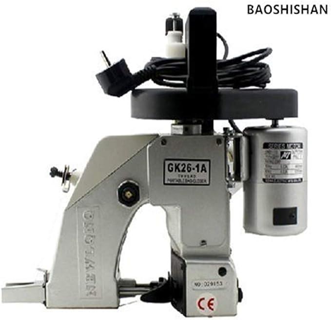BAOSHISHAN Portátil eléctrica máquina de coser automático lubricación Tejido bolsa de embalaje máquina para tejido bolsa aspecto de piel de serpiente bolsa saco: Amazon.es: Bricolaje y herramientas