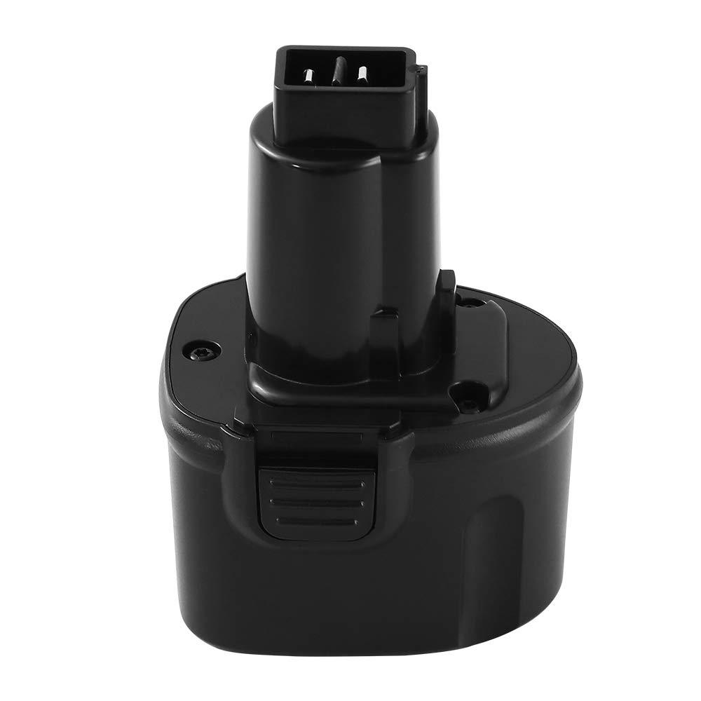 Powayup 3.6Ah for Dewalt 7.2 Volt Battery DW9057 Ni-MH 7.2V Replacement DE9057 DE9085 DW920K DW925K DW925K2 DW968K Cordless Power Tool