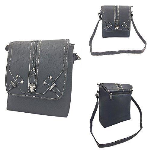 Bag Satchel Women Handbags Tote Bag Handle Body Shoulder Zipper Messenger Top Purse Black3 Ladies Cross tqfw8rt
