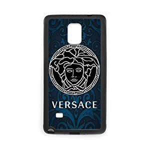 JIUBIE Custom Cover Versace Logo for Samsung Galaxy Note 4 Hard Plastic Case