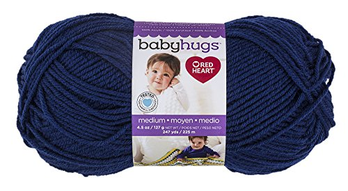 - Red Heart Yarn Red Heart Baby Hugs Medium Yarn Blueberry