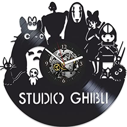 Studio Ghibli Vinyl Clock My Neighbor Totoro Birthday Gift For