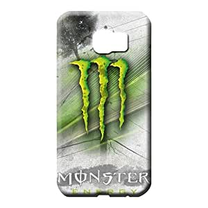 samsung galaxy s6 edge - covers Awesome phone Hard Cases With Fashion Design phone carrying cases monster logo famous top?brand logo