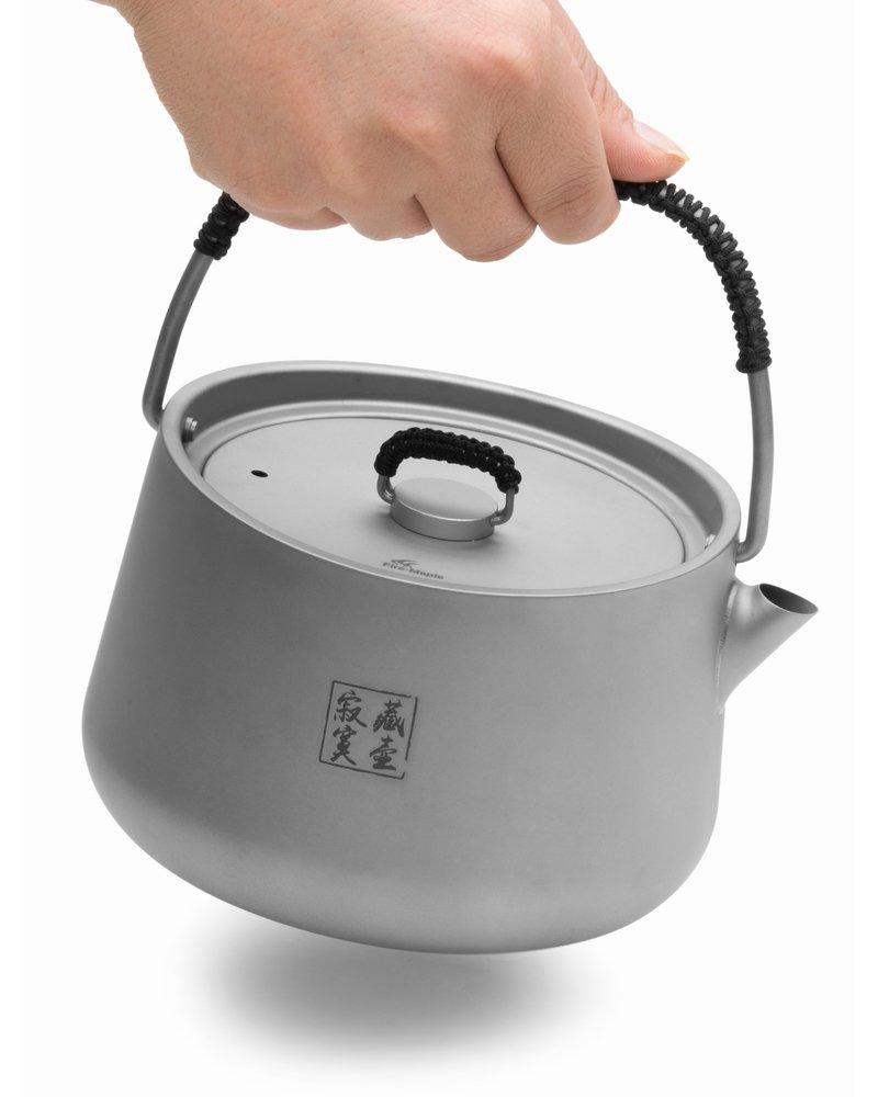 Fire-maple 1L ultra-lightweight titanium kettle outdoor kettle camping teapot kettle cooker