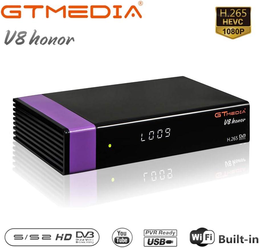 GT MEDIA V8 Honor DVB-S2 Satélite Decodificador Receptor ...