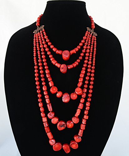 Antique Coral Beads -