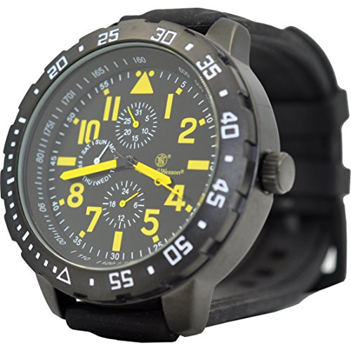 Price comparison product image Smith & Wesson SWW877YW-BRK Calibrator Watch Yellow