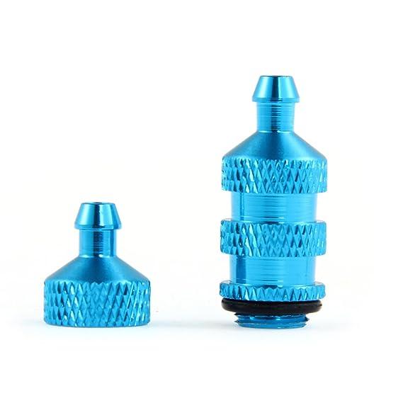 /02156/blu Filtro carburante in alluminio per 1//10/RC Auto camion barca Ricambi/