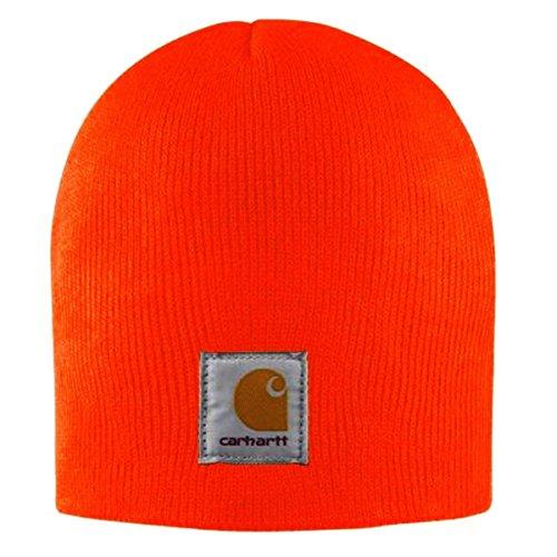 Sombrero Cap A205BOG Gorro Punto Naranja de Carhartt pCfqwYC