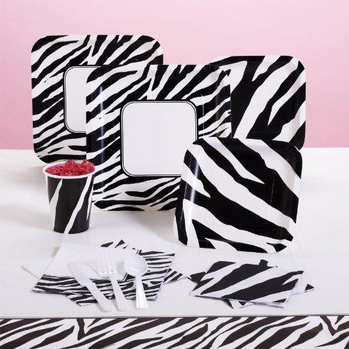 Zebra Print Party Supplies Decoration Ideas