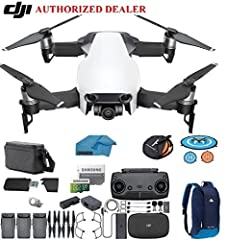 You will get                 1 - Mavic Air Aircraft        1 - Remote Controller        3 - Intelligent Flight Batteries         1 - Charger        1 - Power Cable        6 - Propellers        1 - Propeller Guards        1 - Remote Cab...