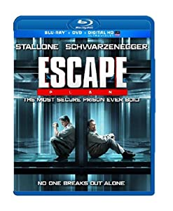 Cover Image for 'Escape Plan (Blu-Ray + DVD + Digital HD)'