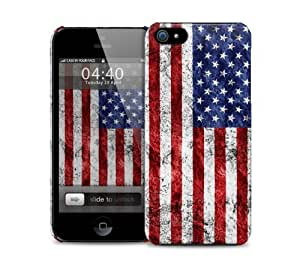 Grunge USA Flag iPhone 5 / 5S protective case
