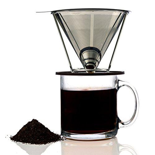 Pour Over Clever Coffee Filter By Meltera Single Cup