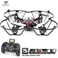 Drone for sale with Camera - H6C Quadcopter RC Helicopter Drones - HD 2MP 720p Aerial Photo Video, Headless Mode, 360 Stunt, 6 Axis Gyroscope, 2.4Ghz Radio Remote Control [USA Warranty + Tech Support]