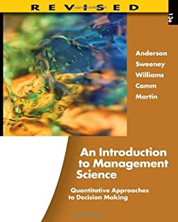 An introduction to management science quantitative approaches to an introduction to management science quantitative approaches to decision making revised with microsoft fandeluxe Gallery