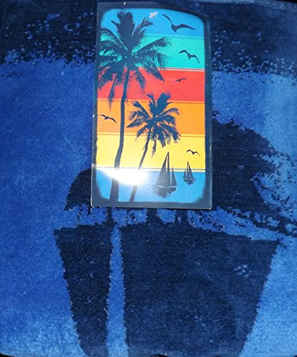 Kirkland Signature 100% Egyptian Cotton Beach Towel (Sunset Bay)