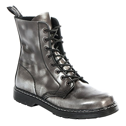 off Rub Silver Braces amp; black rub black silver easy boots hole Rangers Boots 8 off w6OKZHAqqc