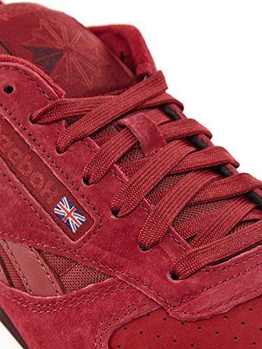 Reebok CL Leather NP, burgundy/triathlon red/ dark red/white burgundy/triathlon red/ dark red/white