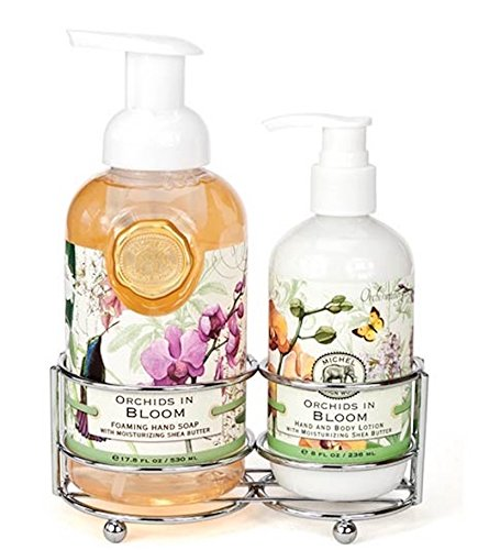 Michel Design Works Orchids in Bloom Foaming Hand Soap and L