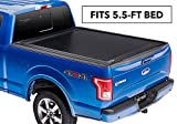 RetraxONE MX Retractable Truck Bed Tonneau Cover | 60373 | fits F-150 Super Crew & Super Cab 5.5' Bed (15-18)