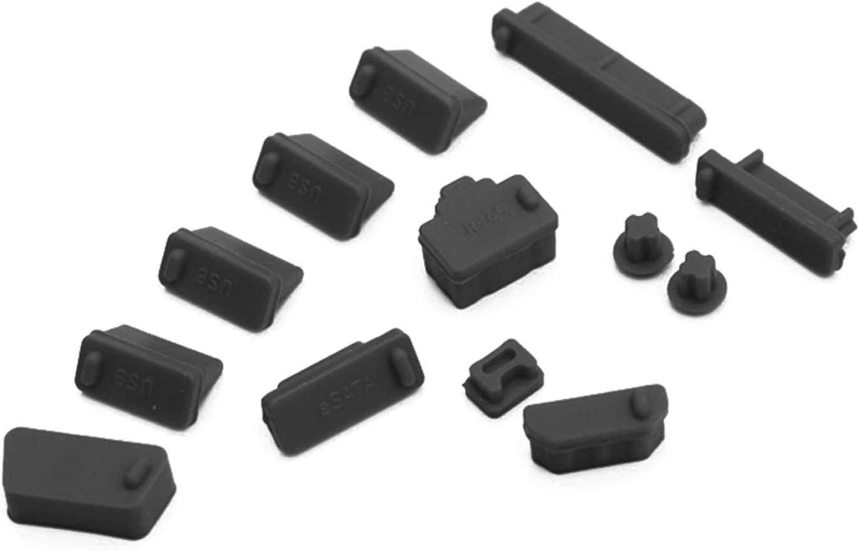 10PCS Protective USB Ports Anti-Dust Plug Cover Stopper for Laptop /& PC SP