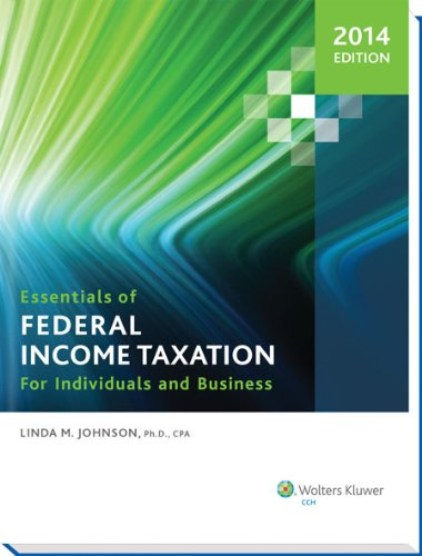 introduction to federal income taxation in canada solution manual