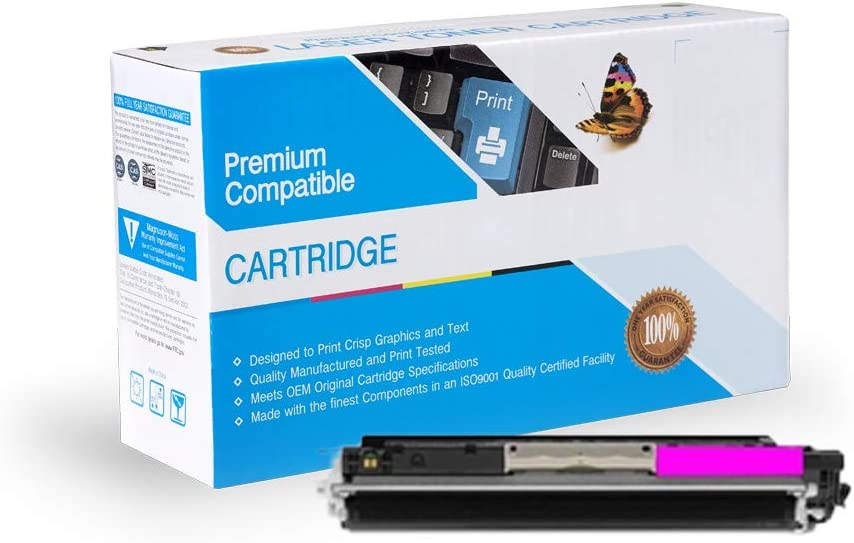 130A Magenta M177FW M176FN M177 M176N On-Site Laser Compatible Toner Replacement for HP CF353A Works with: Color Laserjet Pro MFP M176