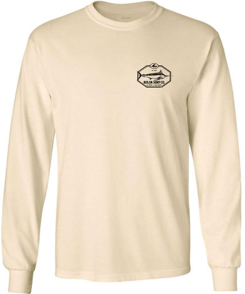 Joe's USA SHIRT メンズ B0755P5GMG M|Natural With Big Game Fish Logo Natural With Big Game Fish Logo M