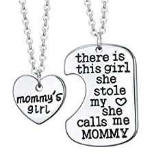 ALoveSoul There Is This Girl She Stole My Heart She Calls Me Mommy Necklace