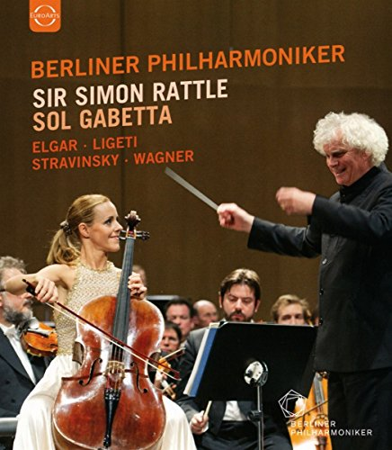 Sir Simon Rattle Gabetta Blu ray product image