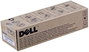 Dell PN124 Yellow Toner Cartridge 1320c Color Laser Printer