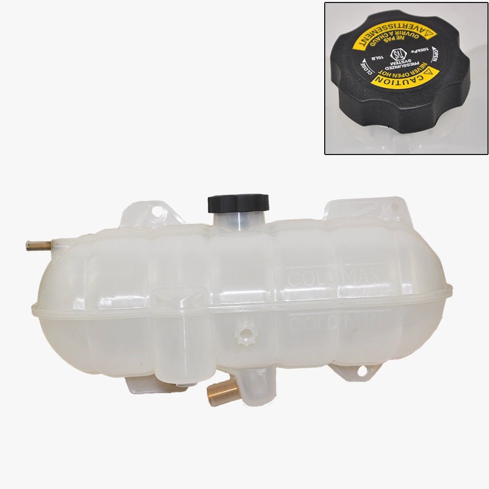 Coolant Reservoir Expansion Tank w/Cap for Freightliner Century Class Columbia Premium Quality 0523045001 KOOLMAN 0523045001 KM