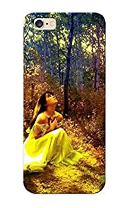 8b556122877 Flyingangela Awesome Case Cover Compatible With Iphone 6 Plus - Praying In The Forest